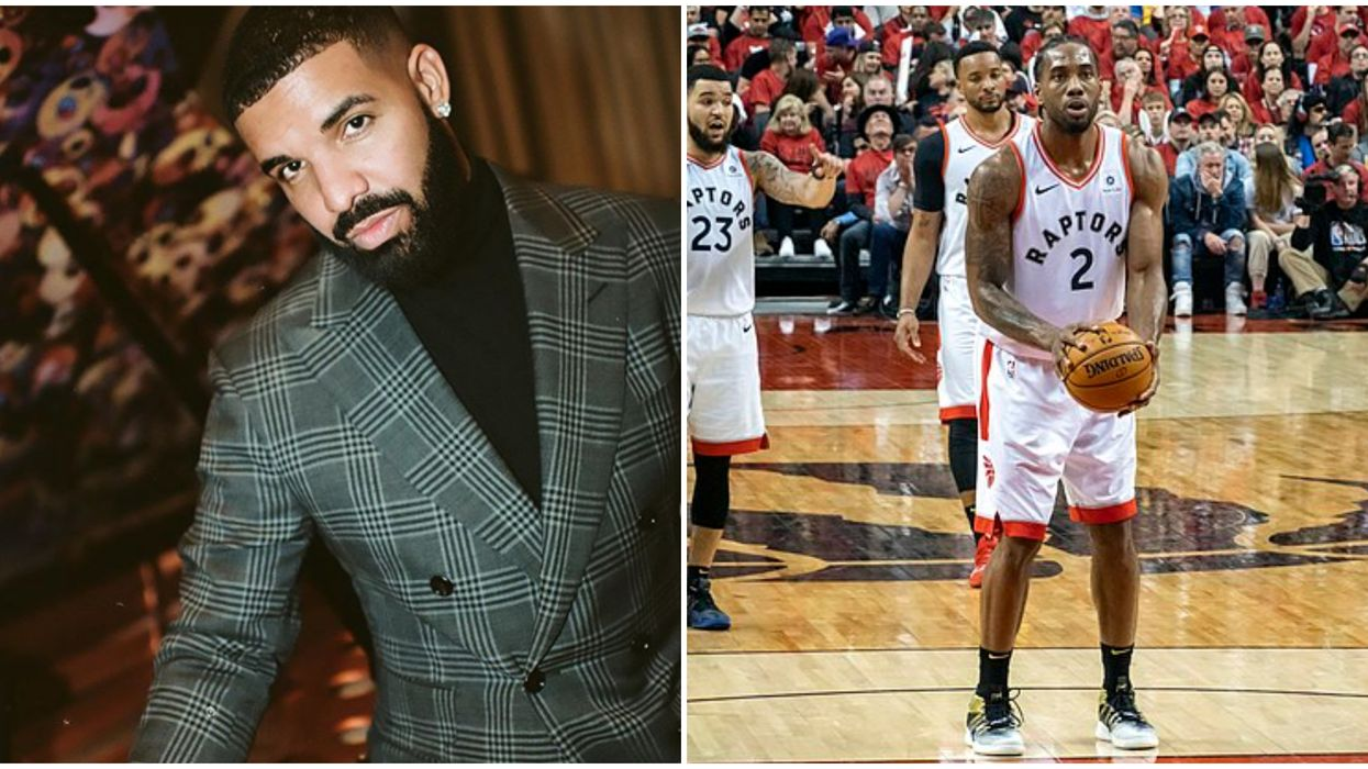 Drake's New Year's Message Shows He's Still All About Kawhi Leonard (PHOTO)