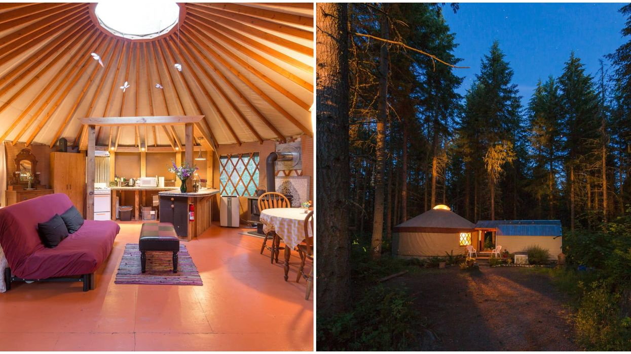 Glamping In Washington Just Got A Royal Update With This Affordable Yurt