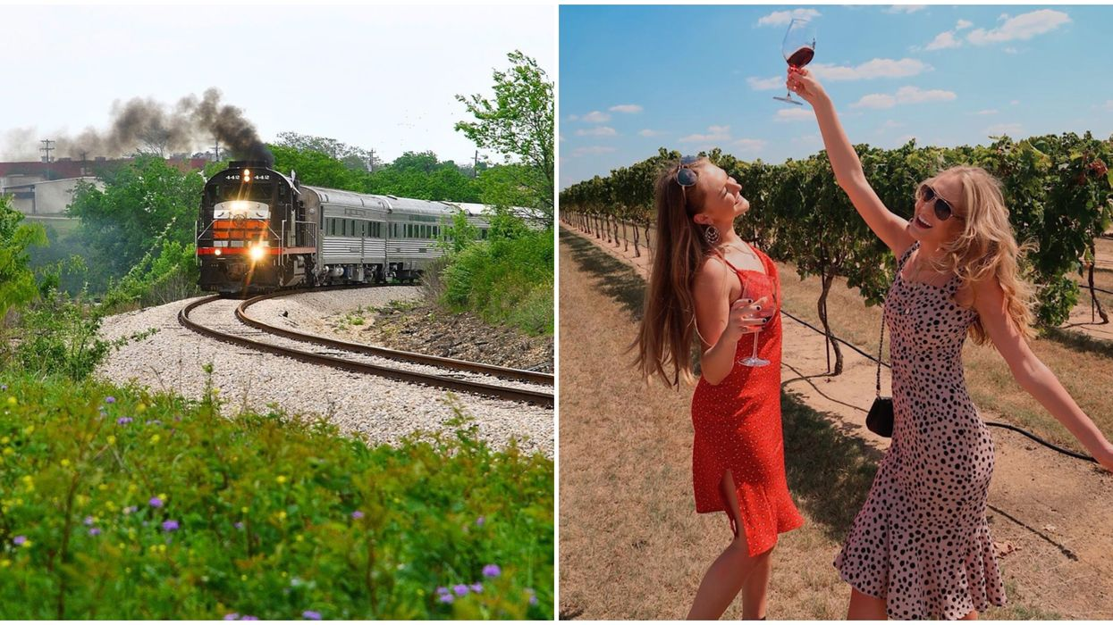 A Wine Train Near Austin Is Welcoming Passengers This Month