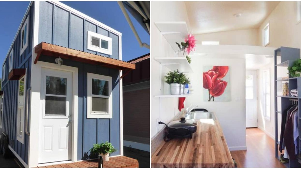 This Affordable Tiny Home In California Is Only $22K And The Interior Is So Adorable
