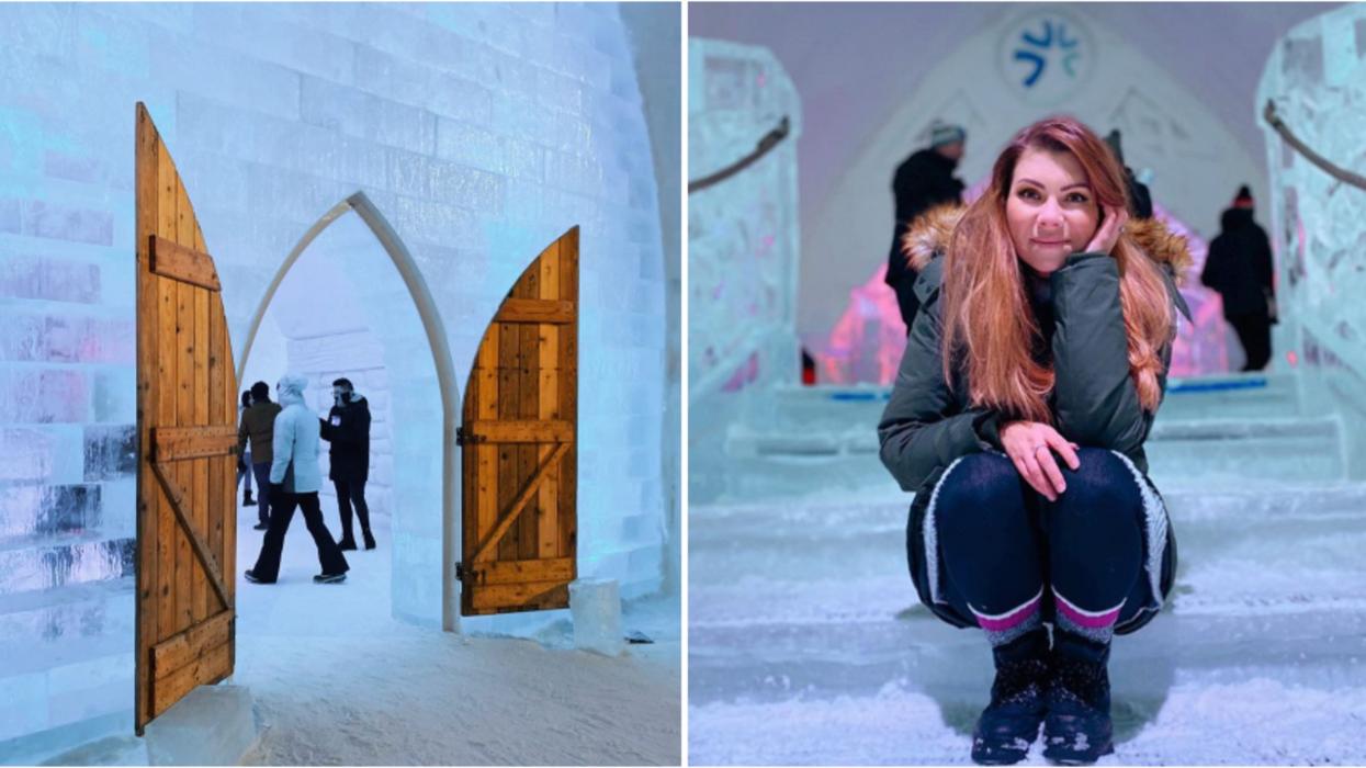 L'Hôtel de Glace 2020 à Québec est digne de Disney et voici des photos de l'intérieur
