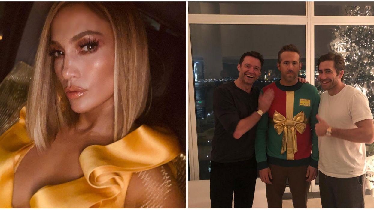Jennifer Lopez's 2020 Golden Globes Look