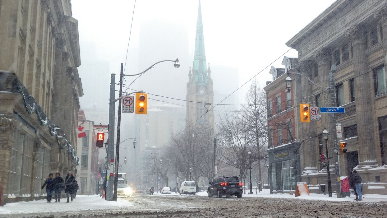 Ontario Weather Is Expected To Be All Freezing Rain & Ice Pellets This Weekend