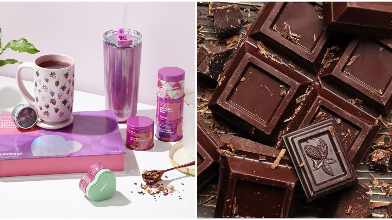 New Chocolate DAVIDs Tea Valentine's Day Collection Actually Tastes Like Chocolate