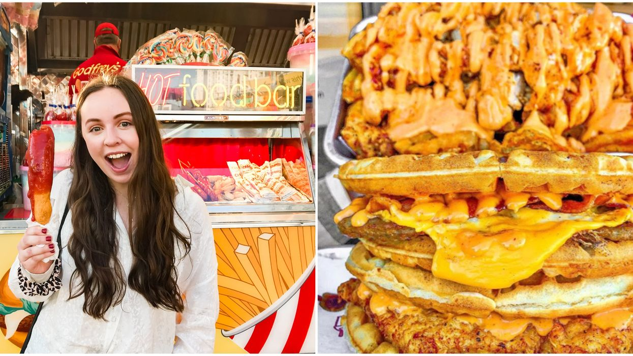 Houston Food Truck Fest Has Carnival Activities And Waffle Cheeseburgers