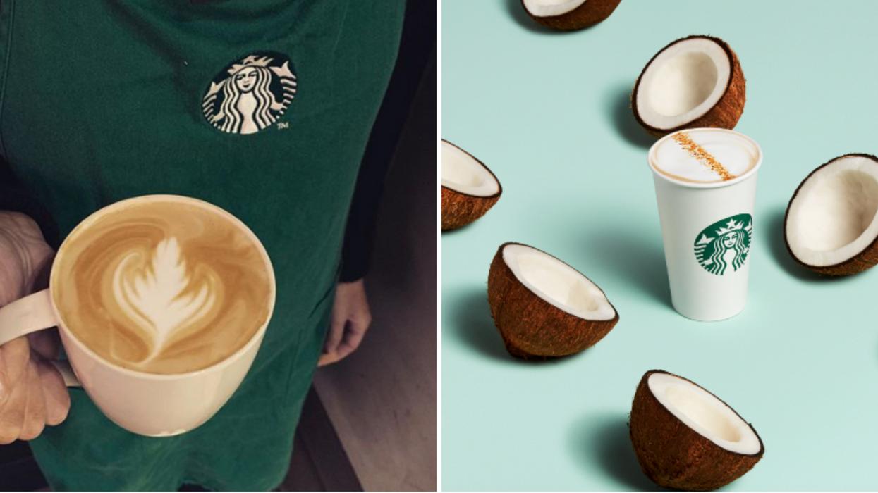 Starbucks sort deux boissons crémeuses sans produits laitiers et elles ont l'air délicieuses