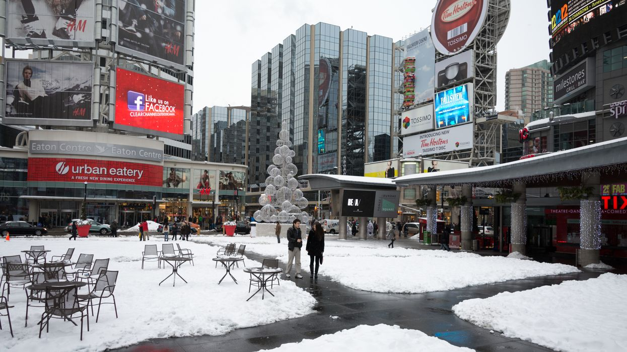 Toronto Extreme Cold Weather Alert Will See Freezing Temperatures Tonight