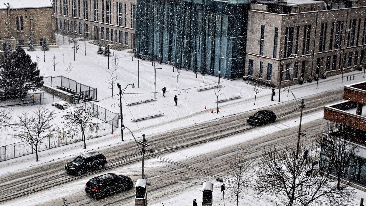Toronto Winter Storm Will Be Be A Soggy Disaster With A Flurry Of Snow & Freezing Rain