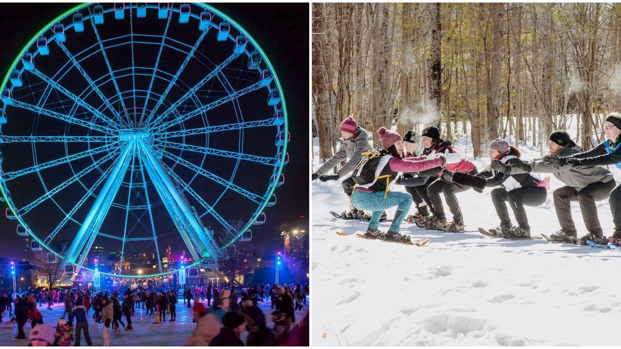 8 activités spéciales à faire à Montréal le weekend du 10 au 12 janvier