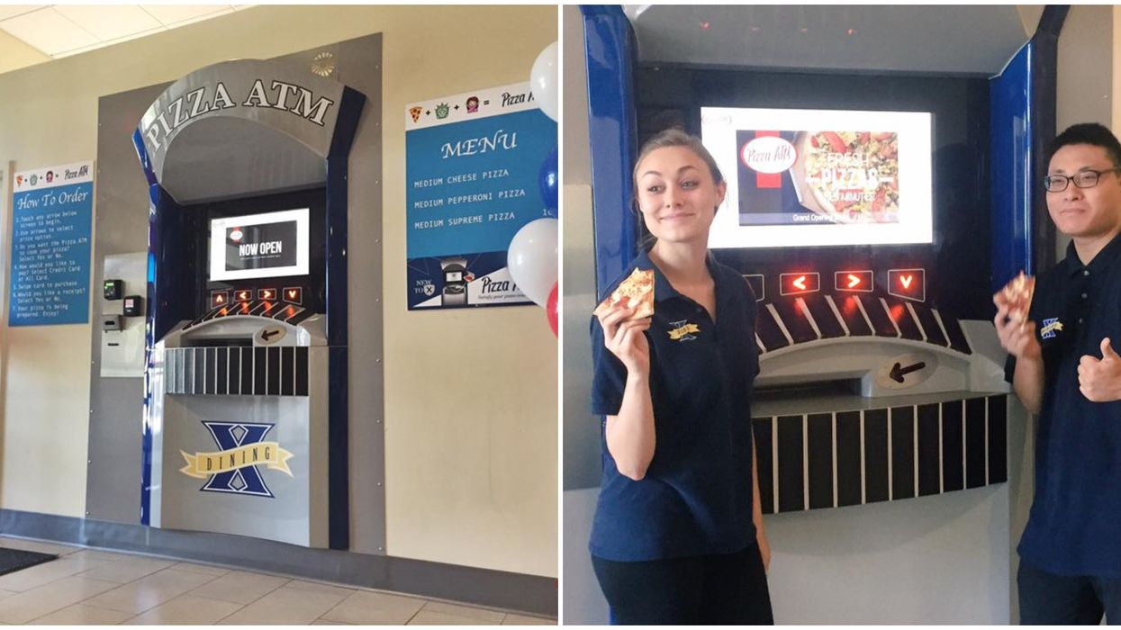 You Can Now Order From A 24 Hour Pizza ATM At This Florida Spot