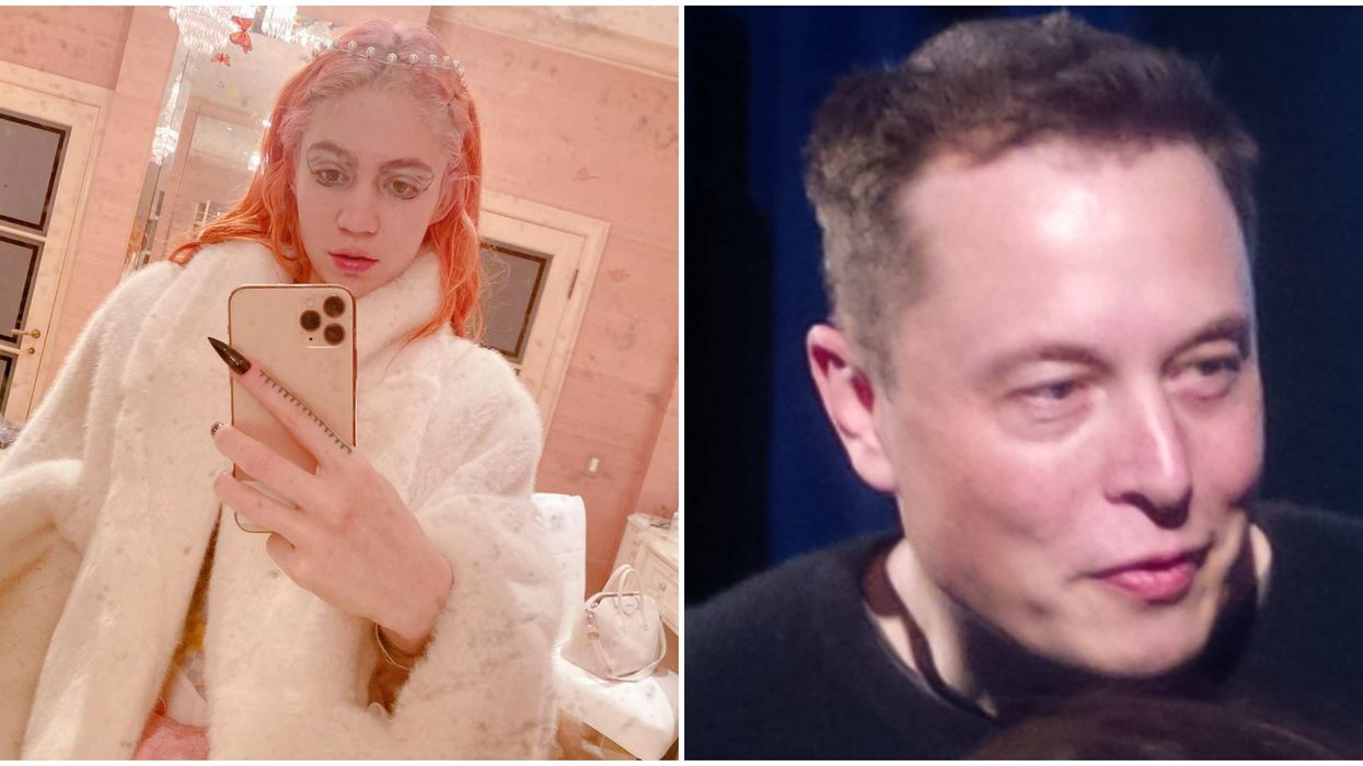 Grimes and Elon Musk Could Be Expecting After Posting Craziest Pregnancy Photo Ever
