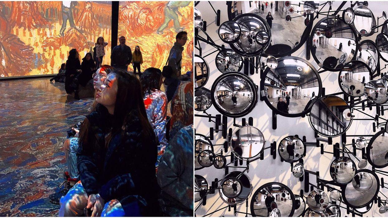 9 folles photos de l'expo Imagine Van Gogh à Montréal qui te convaincront la découvrir