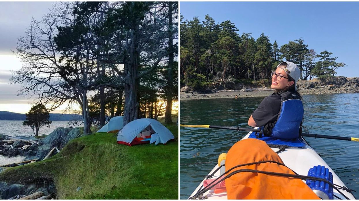 This $12 Island Camp In Washington Is The Perfect Beach Getaway This Summer
