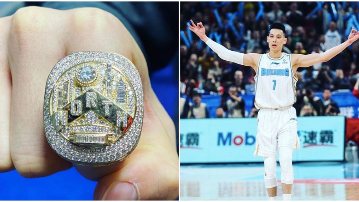 Jeremy Lin Finally Got His Toronto Raptors Championship Ring And It's Adorable