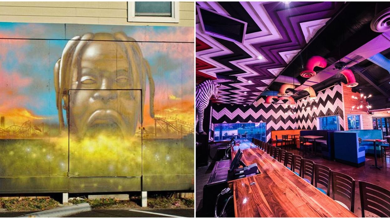 A Brand New Houston Bar Just Opened And It Is Already Travis Scott Approved (PHOTOS)