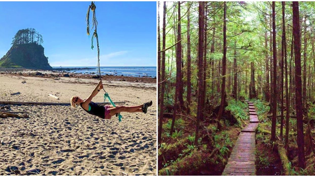 This Boardwalk Hike Will Take You To The Hidden Beaches Of Cape Alava In Washington