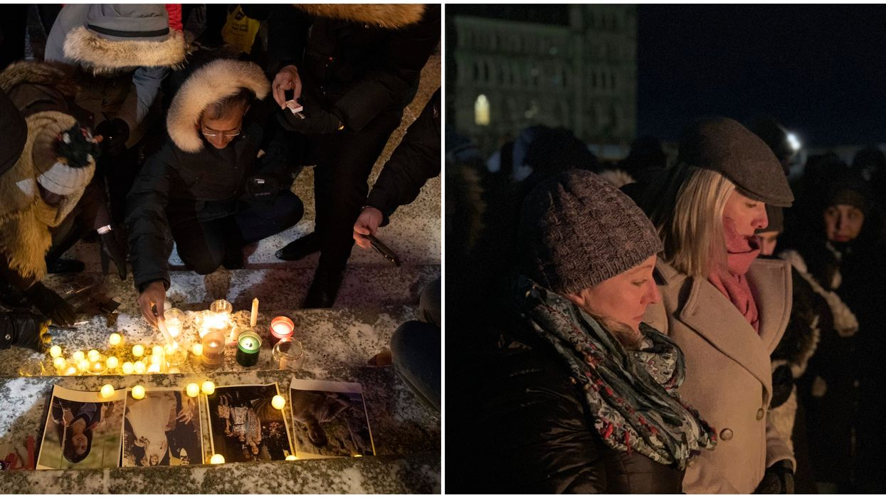 Iran Plane Crash Vigils Across Canada Were Emotional & Sombre