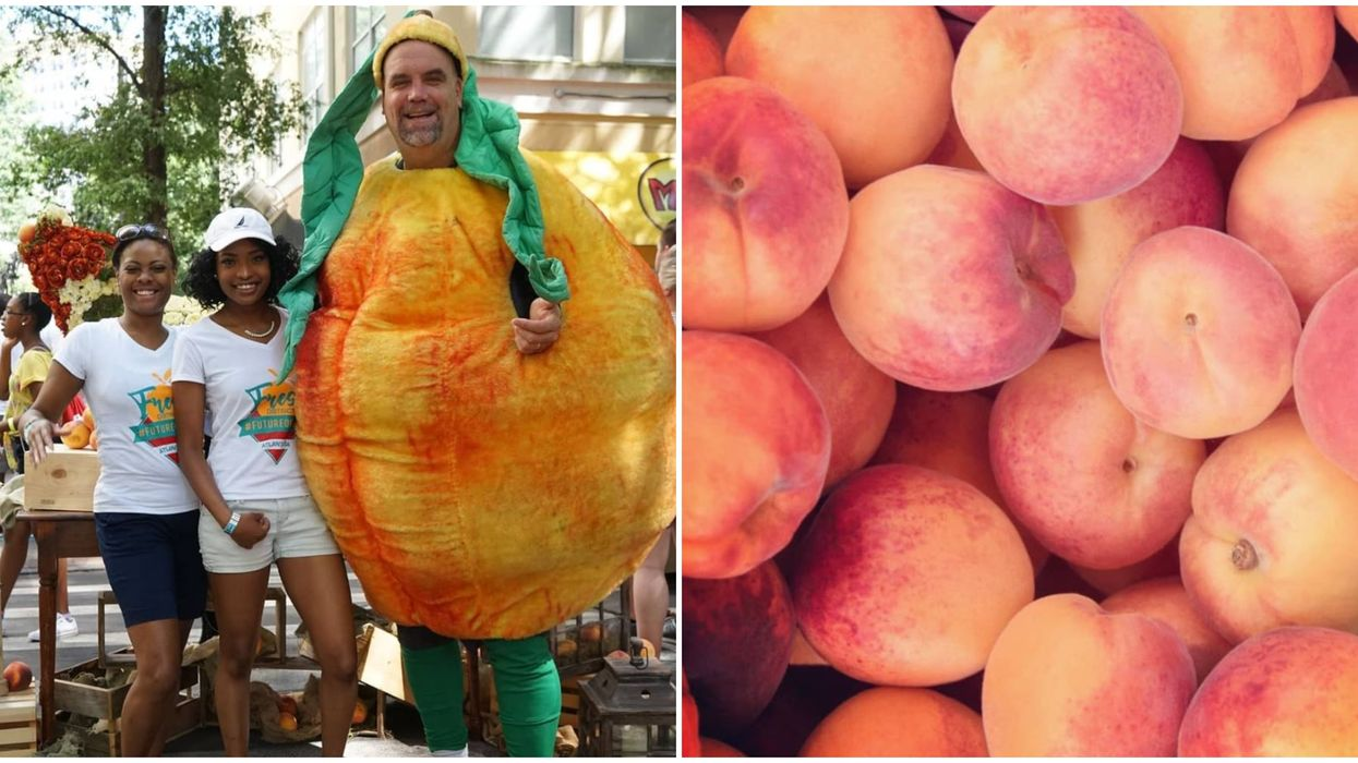 The Best Peaches In The World Can Be Found At This Boozy ATL Peach Festival