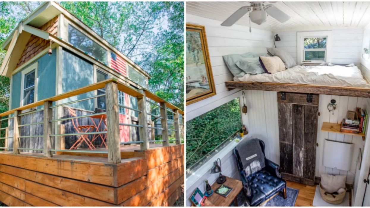 Airbnb In North Carolina Nestled In The Trees Is Perfect For Spring