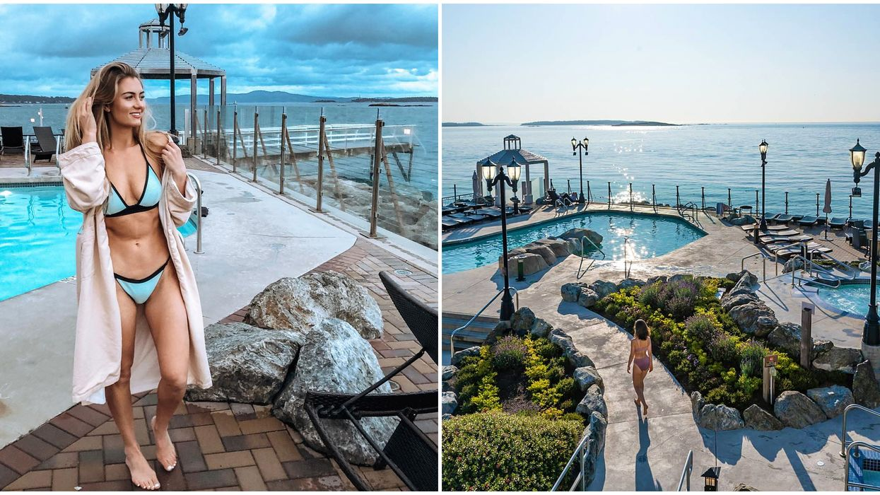 Waterfront Spa In Victoria Is Breathtaking & Sits Right On The Ocean