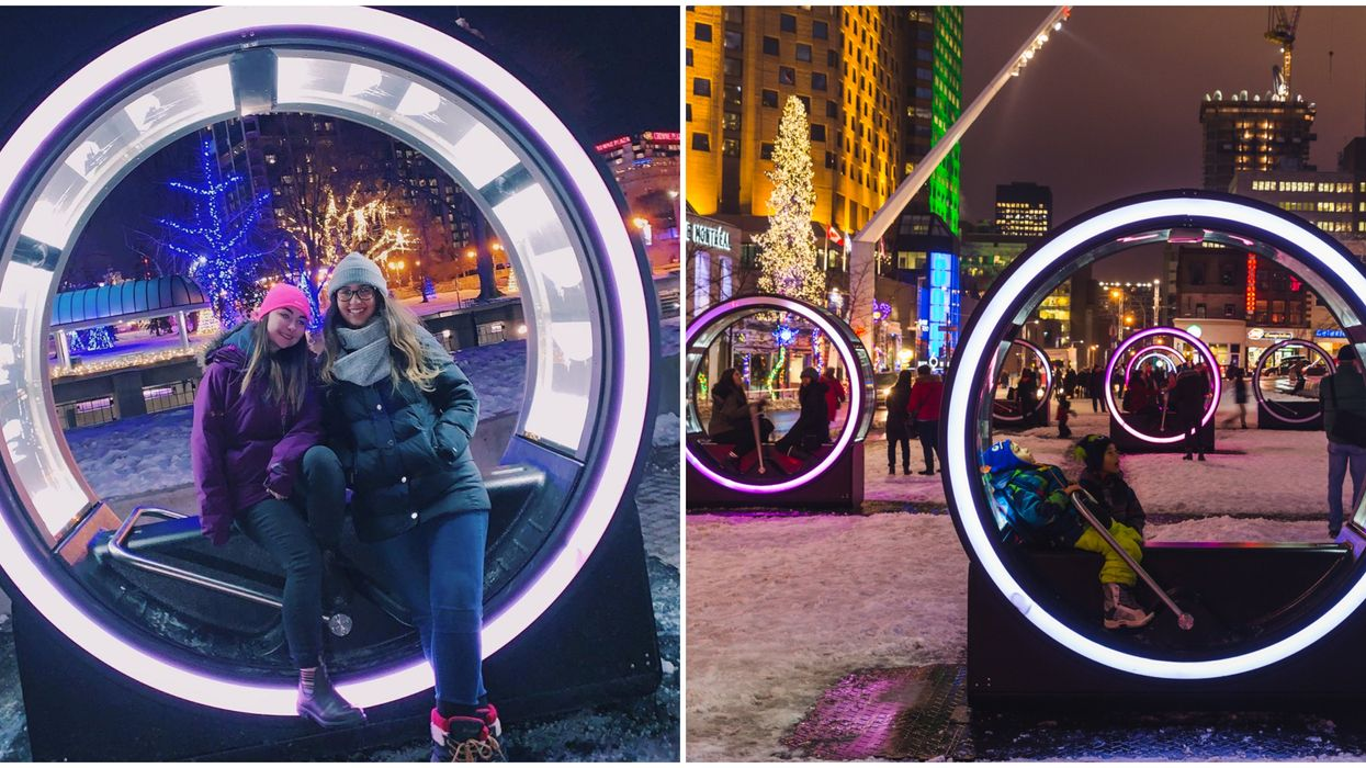 Loop Installation In Toronto Is The 6ix's Coolest New Attraction This Winter