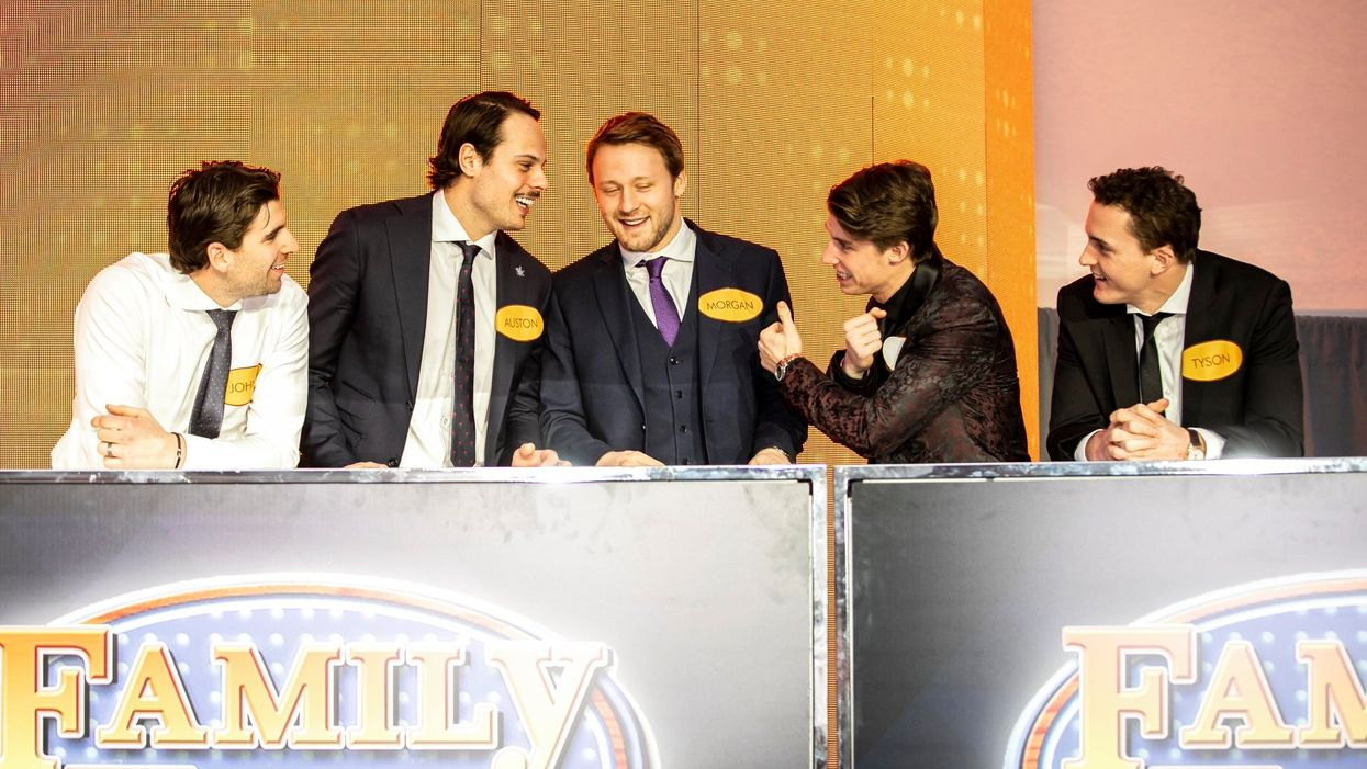 """Toronto Maple Leafs Teased A Special """"Family Feud"""" Game With Auston Matthews & Co. (VIDEO)"""