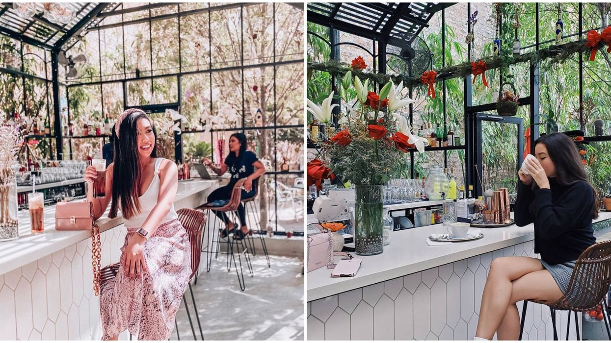 There's An Enchanting Secret Garden In Houston With A Stunning Greenhouse Bar