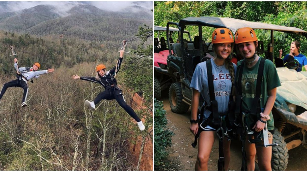 Things To Do In Tennessee Include This Exciting Zipline Tour With Views Of The Smokies