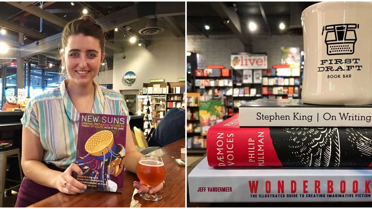 This Bookstore Bar In Arizona Lets You Read & Drink Booze