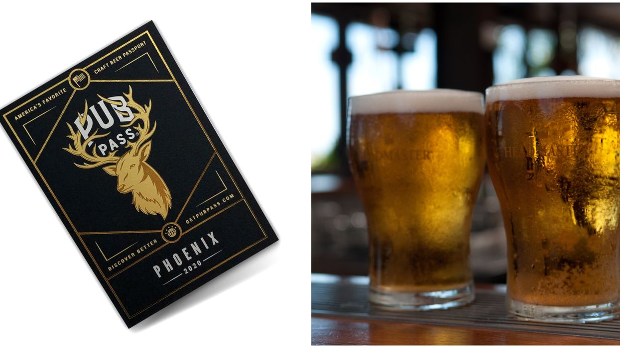 Arizona's Pub Pass Will Get You 1 Cent Beer At 20 Breweries In The Valley