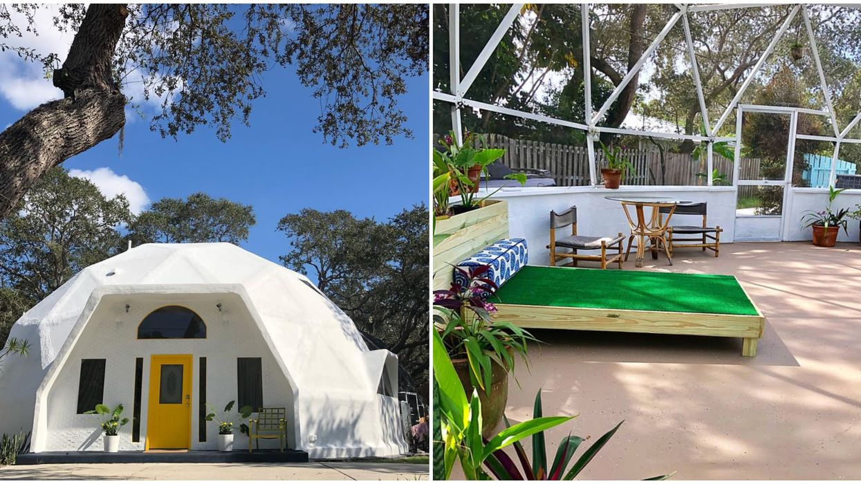 Vacation Rental In Florida Is A Unique And Dome Shaped Home For A BFF Getaway