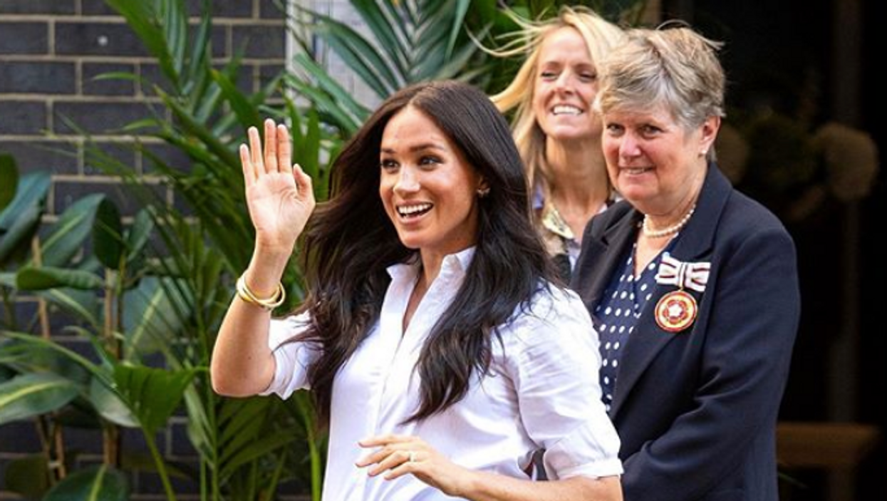 Meghan Markle Was Reportedly Seen Driving Around Alone In Canada This Weekend