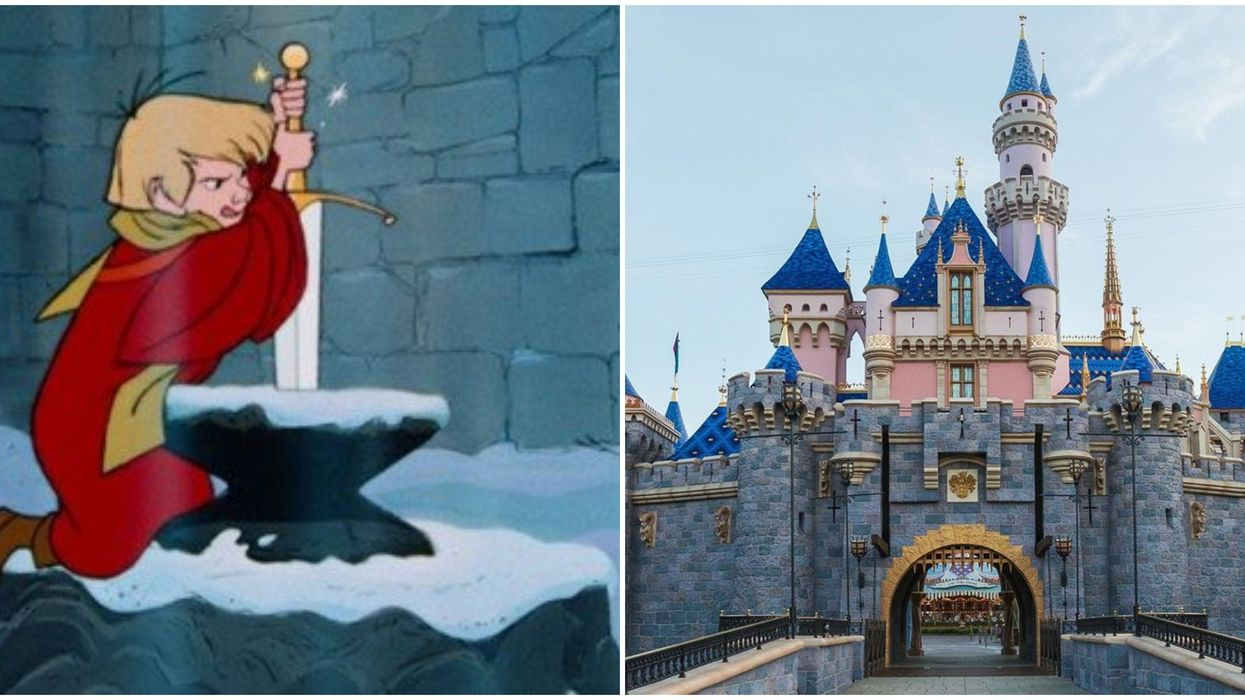 The Disneyland Sword In The Stone Was Actually Pulled Out By A Super Strong Park Guest