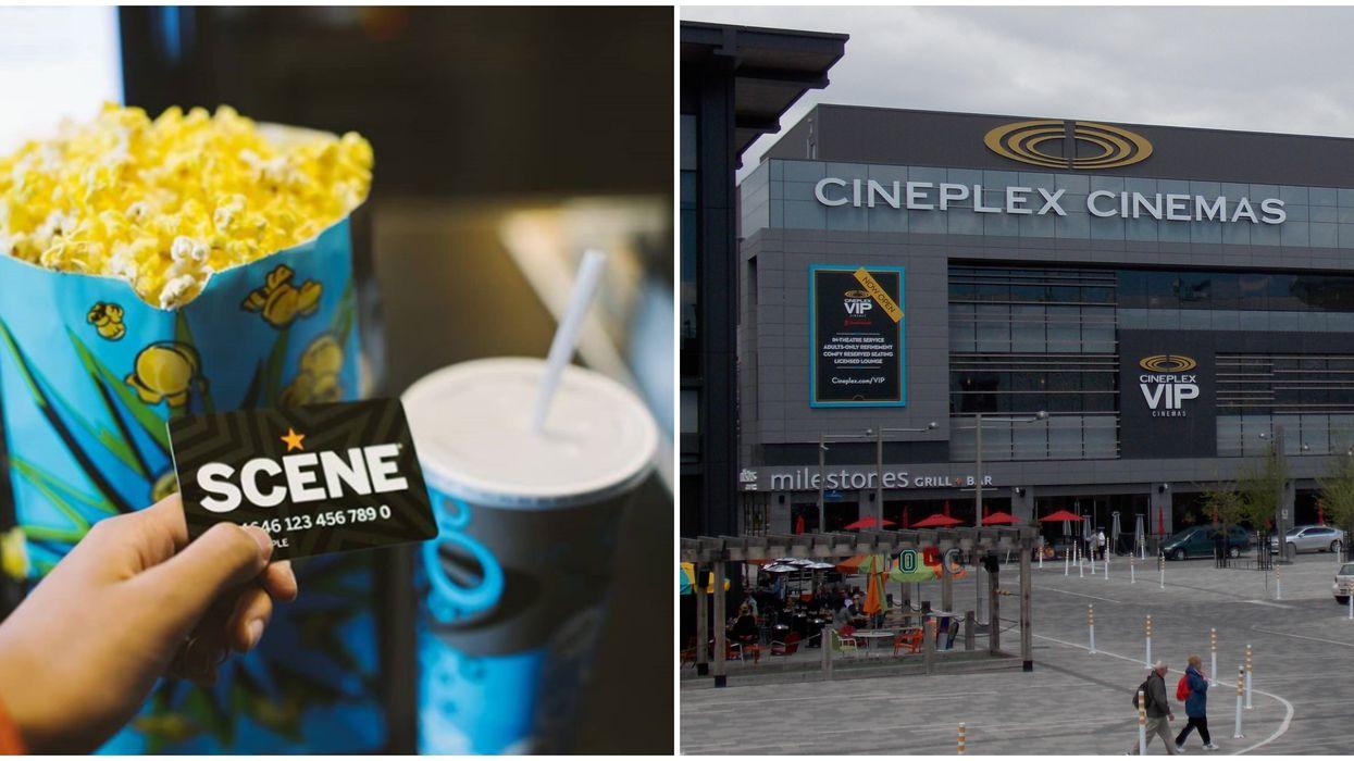 Cineplex Free Popcorn Day For Scene Members Is January 19