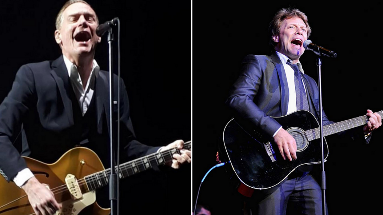 Fans Are Upset After Bryan Adams Is Missing From Canadian Date On Joint Tour With Bon Jovi