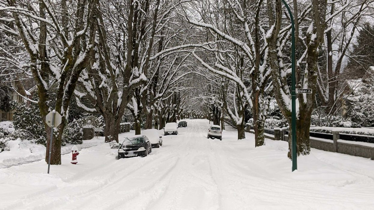 Snowfall Warning For Metro Vancouver: Snow End In Sight