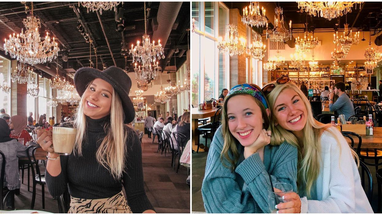 This Houston Brunch Spot With Over 40 Chandeliers Is Perfect For A BFF Date