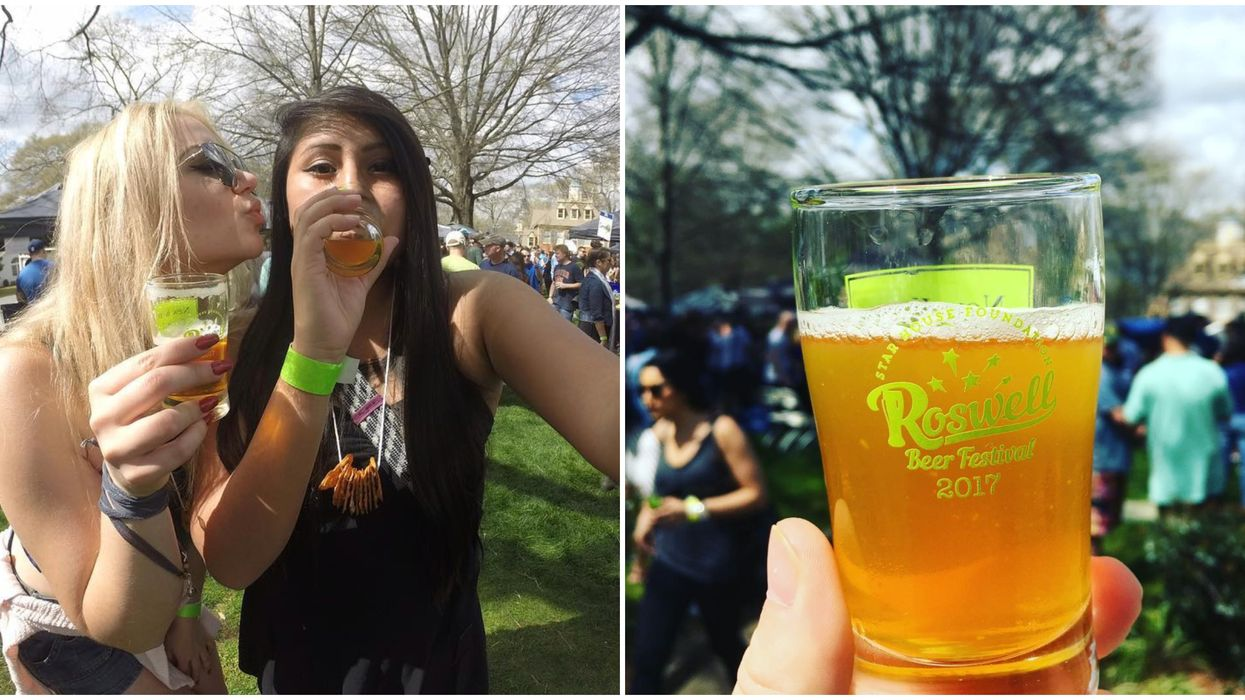 This Beer Festival In Georgia Features Over 400 Brews To Try