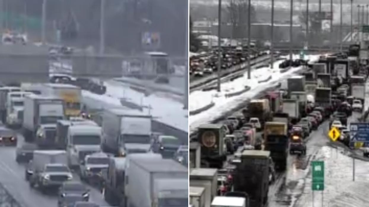 Un déversement cause une congestion monstre sur l'autoroute 15 à Sainte-Thérèse