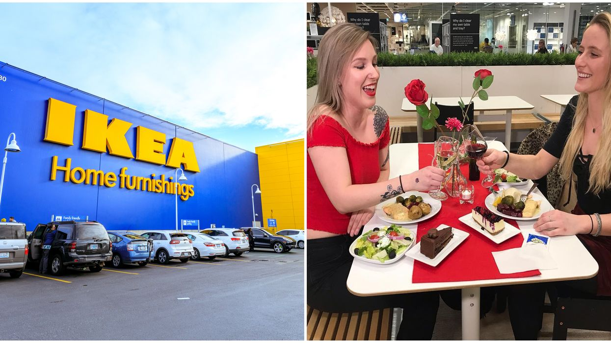 Valentine's Day Dinner At IKEA Canada: The Perfect Cheap Date Night Idea