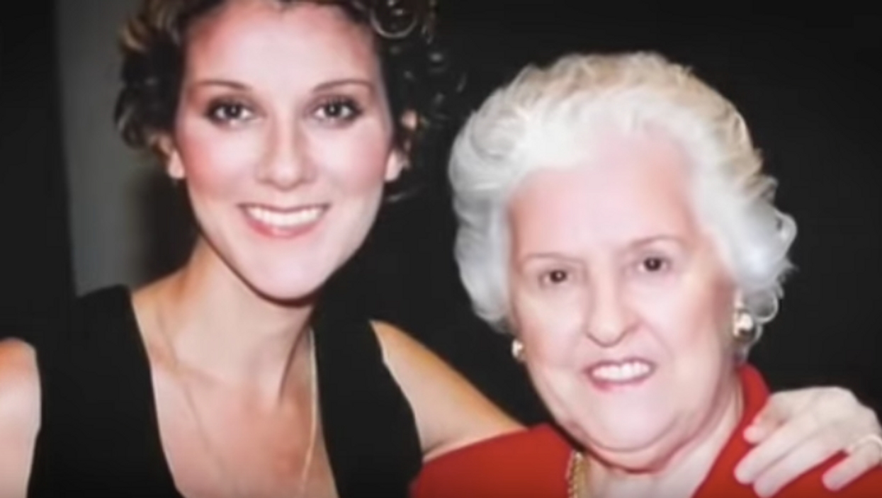 Céline Dion's Mom Thérèse Was Treated Like Royalty By Her Music Icon Daughter (PHOTOS)