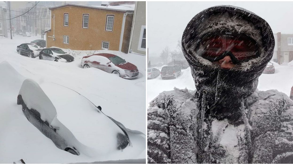 St. John's State Of Emergency Shut Down The City & Ordered People To Stay Home