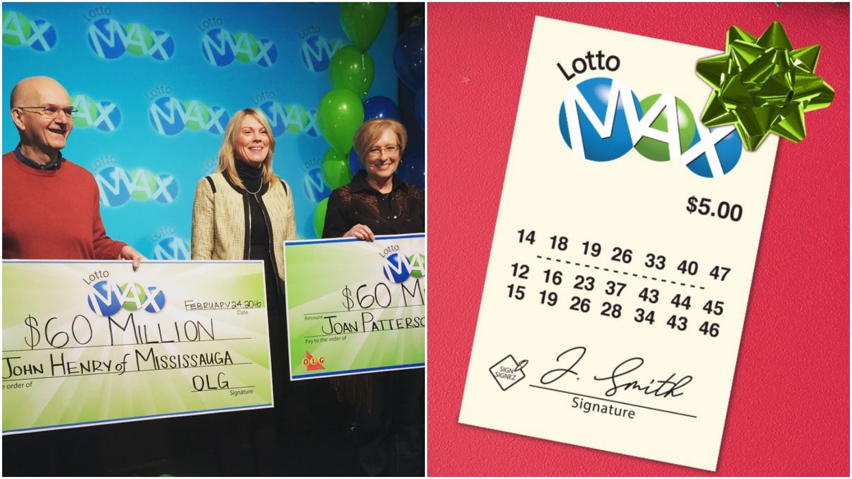 Lotto Max's $50 Million Ticket Was Sold In Vaughan But It Hasn't Been Claimed