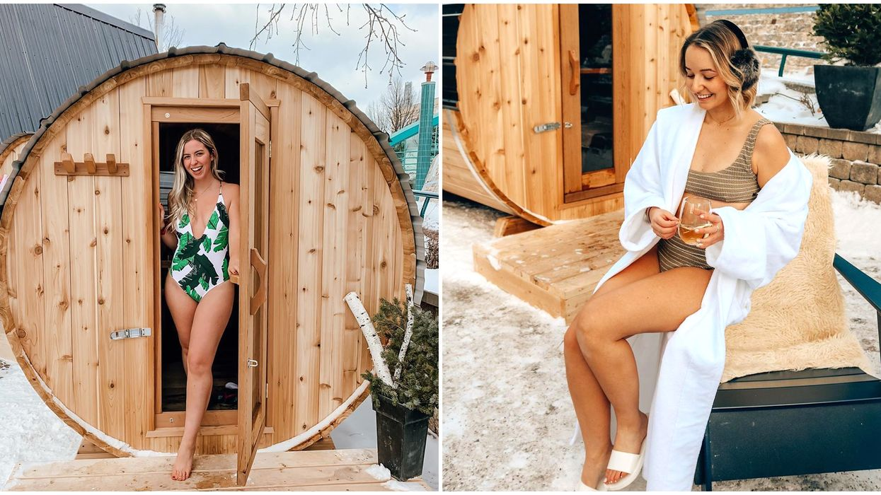 Pop-up Sauna In Winnipeg Is The Perfect Way To Stay Warm This Winter