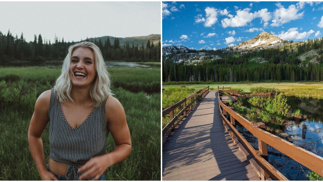 Utah's Boardwalk Hike Is Perfect For A Springtime Adventure