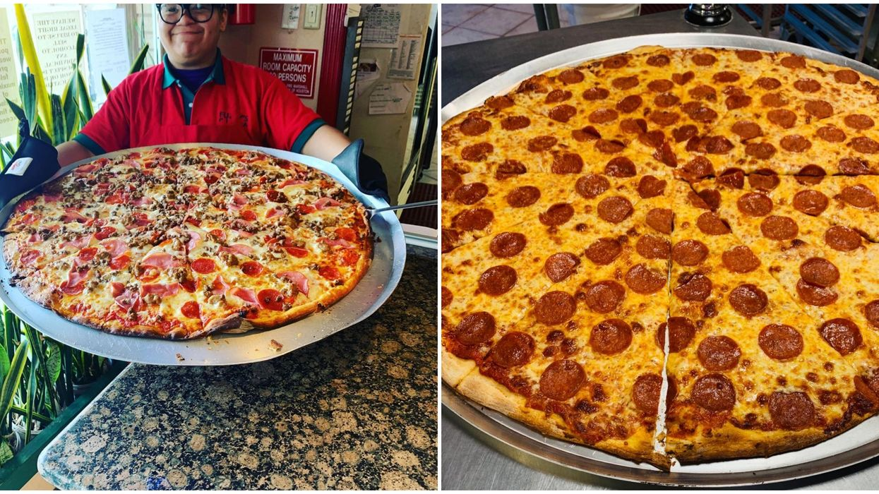 Insanely Large Pizza Is Sold At This Delicious Houston Restaurant