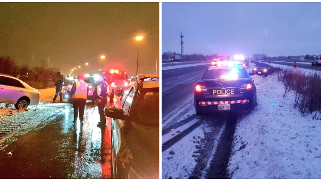 Toronto's Snowstorm Led To Hundreds Of Accidents This Weekend