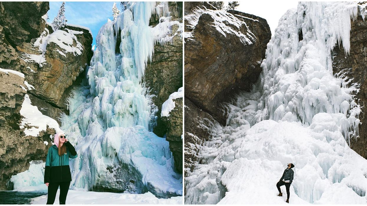 Johnston Canyon In The Winter: 13 Photos That Show Breathtaking It Is When It Freezes