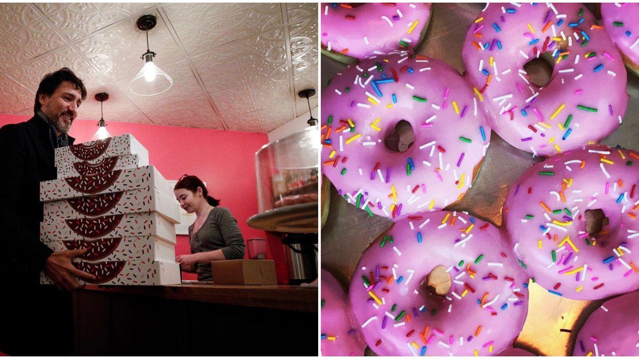 Justin Trudeau Winnipeg Donut Break Photo Is Cute & Relatable (PHOTO)
