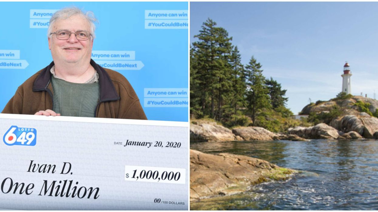 B.C. Lottery Winner Will Retire From Being A Lighthouse Keeper After $1 Million Lotto 6/49 Win